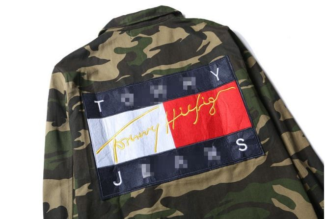 Tommy hilfiger camo jacket