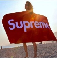 Louis Vuitton supreme Beach Towel