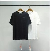 Off White 3D Sketch Print T-Shirt