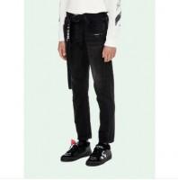 Off White Black Jeans