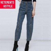 Vetements x Levi's Zip Denim Jeans