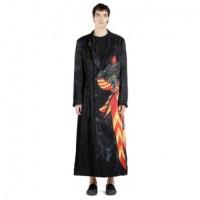 Yohji Yamamoto Knight Pattern Velvet Coat (SS20)