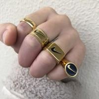 Nike Gold Ring