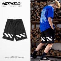 Off-White Graffitti Shorts (Nelly) 1