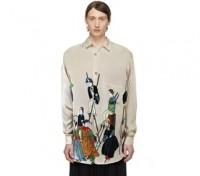 Yohji Yamamoto Silk Shirt (1995)