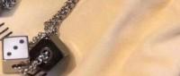 Louis Vuitton Dice Necklace