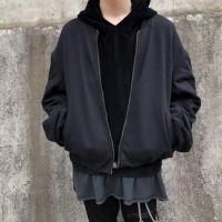 Heider Ackermann Black Perth Bomber Jacket