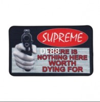 """Supreme """"There Is Nothing Here Worth Dying For"""" Welcome Mat (Fw17)"""