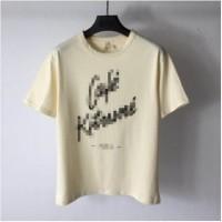 Maison Kitsune SS19 Cafe Kitsune White T-Shirt