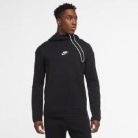 Nike Tech Fleece Half Zip Black Hoodie