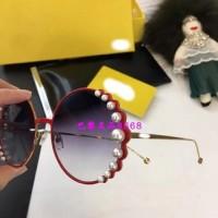 Fendi Pearl Detail Sunglasses