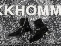 YSL Chain Harness Wyatt Boot In Black Suede (FW13)