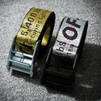 Off-White Industrial Belt Yellow  1