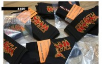 Heron Preston Flames Socks