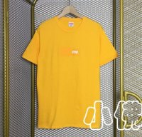 2000 Supreme Orange Box Logo Tee