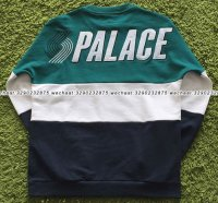 PALACE BLAZED DROP SHOULDER CREW 5
