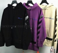 SS18 OW x Champion Hoodie