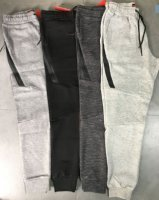 Nike Tech Fleece Trackies Dark Grey 1