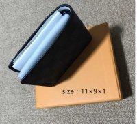 Graphite checker bi-fold wallet 1