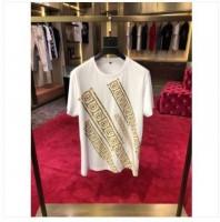 Versace Diag Print T-Shirt