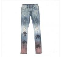 Palm Tree Skinny Jeans