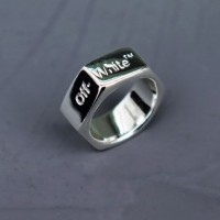Off-White Hex-Nut Ring