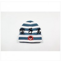 Supreme Striped Vampire Beanie
