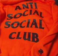 Anti Social Social Club x Undefeated Hoodie 5