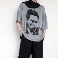 Raf Simons Silk Scarf T-Shirt