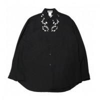 Yohji Yamamoto Flower Cut Out Wool Shirt (SS96)