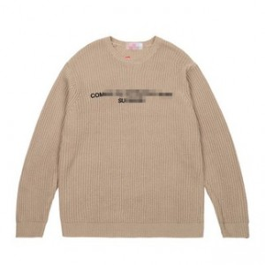 CDG Label Knit Sweater