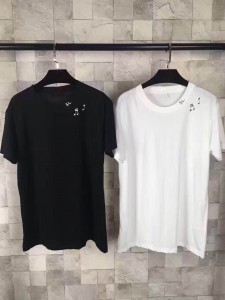 Saint Laurent Music Notes Tee
