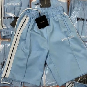 Palm Angels Track Shorts (Light Blue)