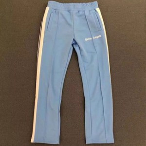 Palm Angels Baby Blue Trackpants