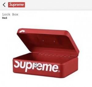 Supreme Lock Box (FW17)