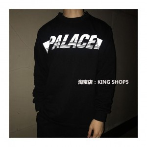 Palace Black Crewneck