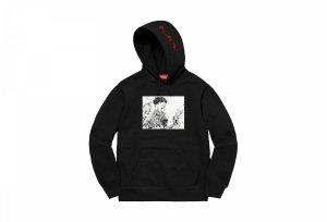 Black-Supreme-AKIRA-Arm-Hooded-Sweatshirt