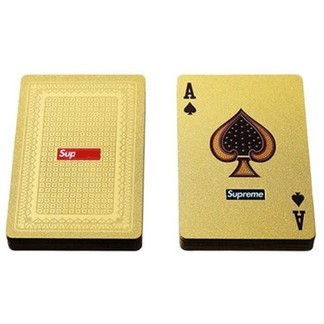 Supreme Gold Playing Cards (FW13)