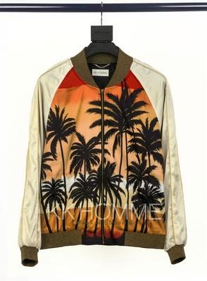 SLP Palm Tree Bomber Jacket (Sequin Version)