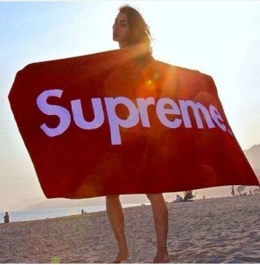 Louis Vuitton supreme Beach Towel