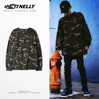 Nelly Layering Camo Longsleeve T-Shirt
