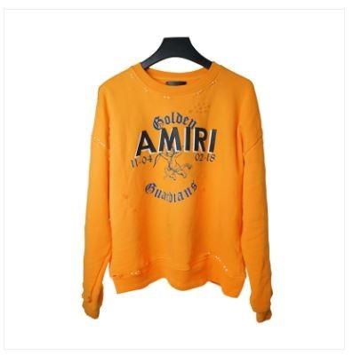 Amiri Orange Sweatshirt