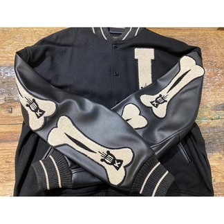 Kapital Bone Varsity Jacket
