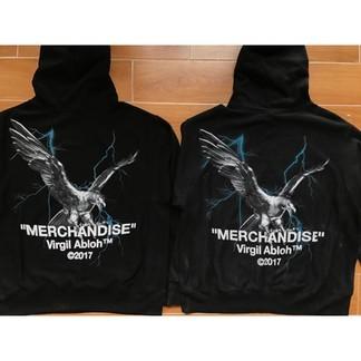 "Off-White ""Merchandise"" Eagle Hoodie"