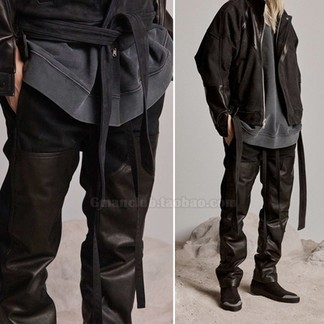 FOG Leatherpatched Jeans