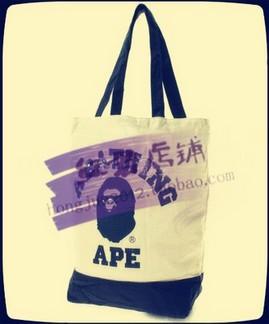 Bape Canvas Tote Bag