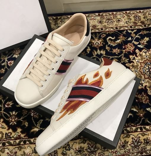Gucci Ace Flames