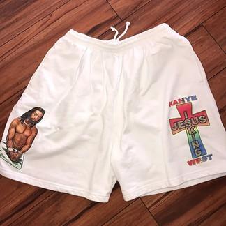 Kanye West Sunday Service Shorts