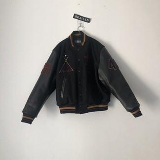 Stussy 40th Anniversary Ist Varsity Jacket