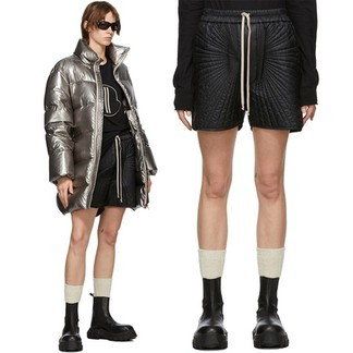 Rick Owens x Moncler Genius Quilted Shell Shorts